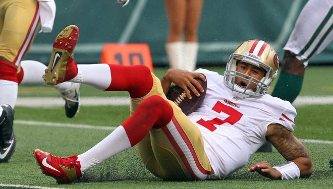 The 49ers picked QB Colin Kaepernick (7) in the second round of the 2011 draft.