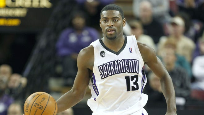 Tyreke Evans and the Sacramento Kings have a new home in Sleep Train arena, named after the team's new sponsor, Sleep Train Mattress Centers.