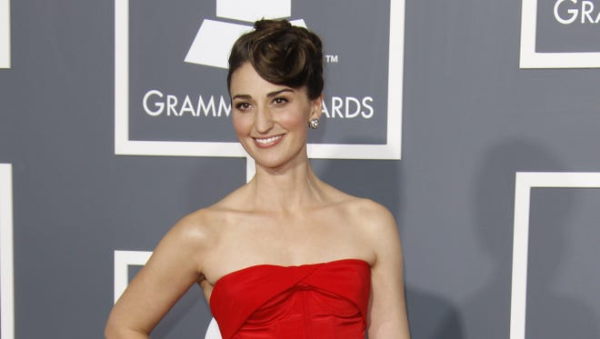 Sara Bareilles arrives at the Staples Center for the 2011 Grammy Awards. She was quoted by Mavericks coach Rick Carlisle to reporters.