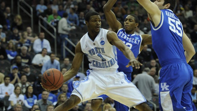 Dexter Strickland shown playing in 2011. The North Carolina point guard is critical of N.C. State being voted the preseason favorite in the ACC.