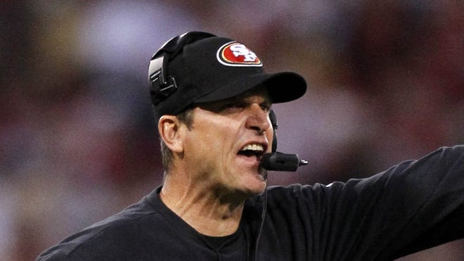 San Francisco coach Jim Harbaugh's decision to decline a safety sealed the fate of NFL gamblers in Las Vegas and beyond.
