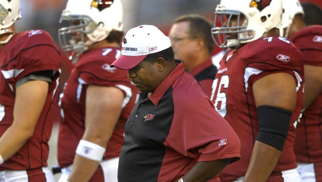 The Cardinals left Dennis Green frustrated on more than one occasion.