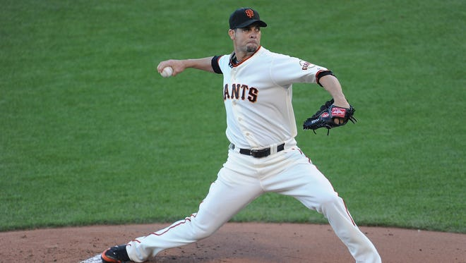 Ryan Vogelsong, 2-0 with 1.42 ERA in three starts in the postseason, will start Game 3 for the Giants.