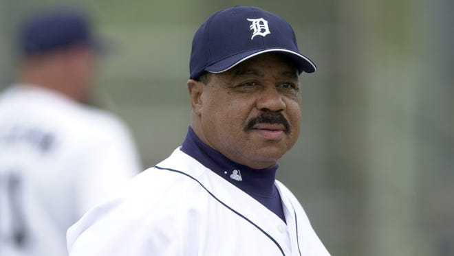 Willie Horton, shown here in 2003, was a Tigers hero during the 1968 Series.