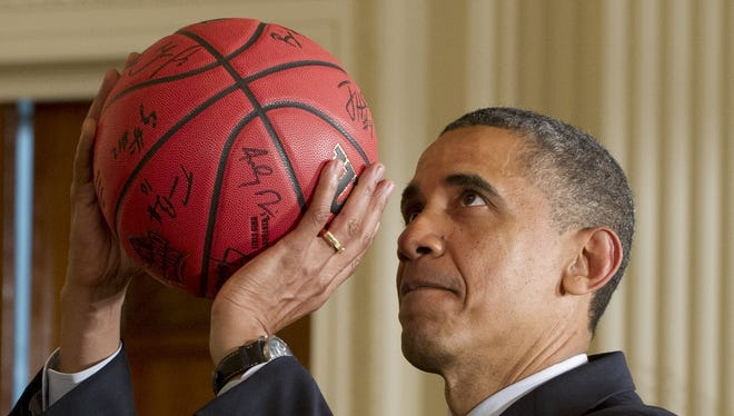 President  Obama is an avid basketball fan and plays often. NBA commissioner David Stern doesn't think too highly of Obama's game, though.