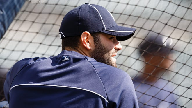 Alex Avila's bad wrist kept him out of the Game 4 lineup.