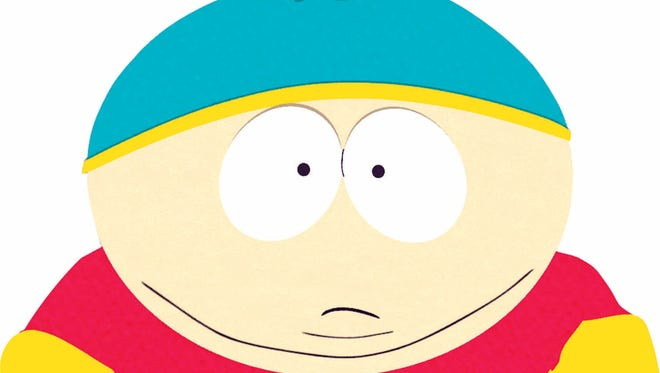 South Park character Eric Cartman. He and his buddies take their shots at cyclist Lance Armstrong in an upcoming episode.