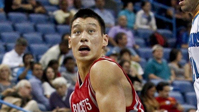 Houston Rockets guard Jeremy Lin made an awkward, accidental phone call.