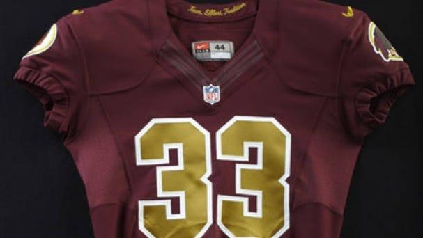 Washington Redskins to wear throwback uniforms Sunday