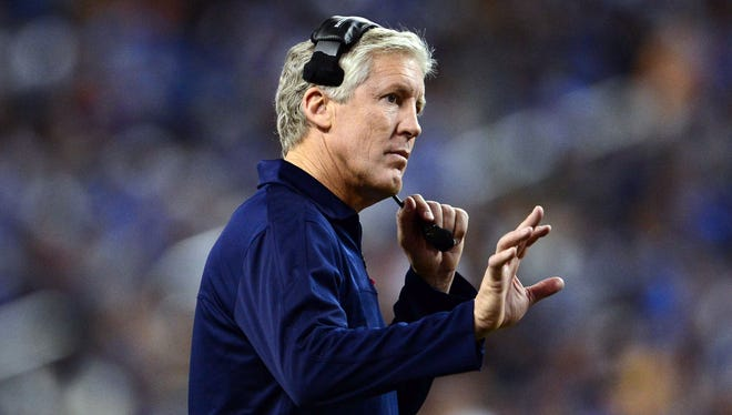 Pete Carroll spent nine seasons as Southern California's coach before joining the Seahawks in 2010.
