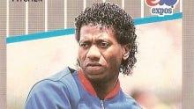 Pascual Perez, seen here on his 1989 Fleer baseball card.