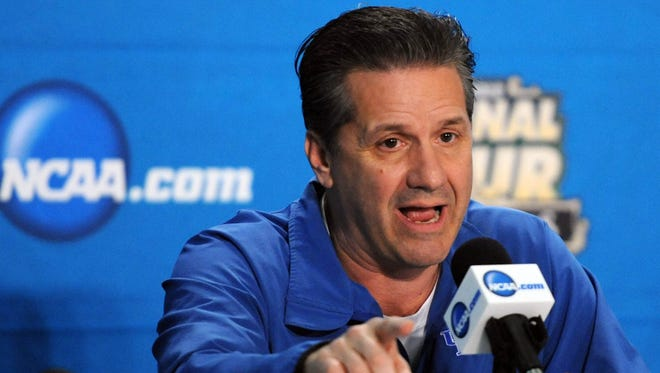 It can be difficult to get a question in for Kentucky coach John Calipari. But Nicole Auerbach and the rest of the USA TODAY Sports college basketball staff are here to help.