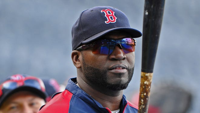 David Ortiz is an eight-time All-Star with 343 homers in Boston.