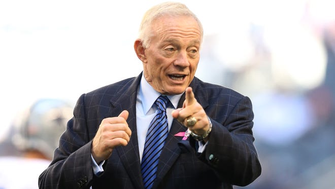 Cowboys owner Jerry Jones won't ever relinquish his duties as general manager.