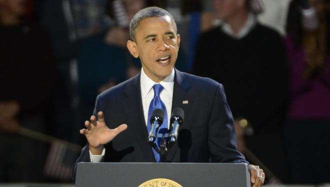 Barack Obama was re-elected as President on Tuesday night.