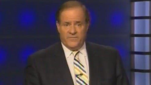 Chris Berman in the middle of his apology stumble.