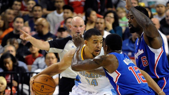 JaVale McGee and DeAndre Jordan are two of the most athletic players in the NBA.