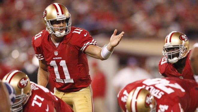 Alex Smith last missed a start for the 49ers in 2010.