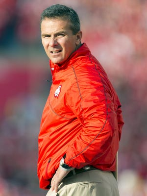 Ohio State coach Urban Meyer is more than ready for his first taste of the end-of-year rivalry against Michigan.