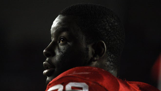 Montee Ball, the FBS record holder for career touchdowns.