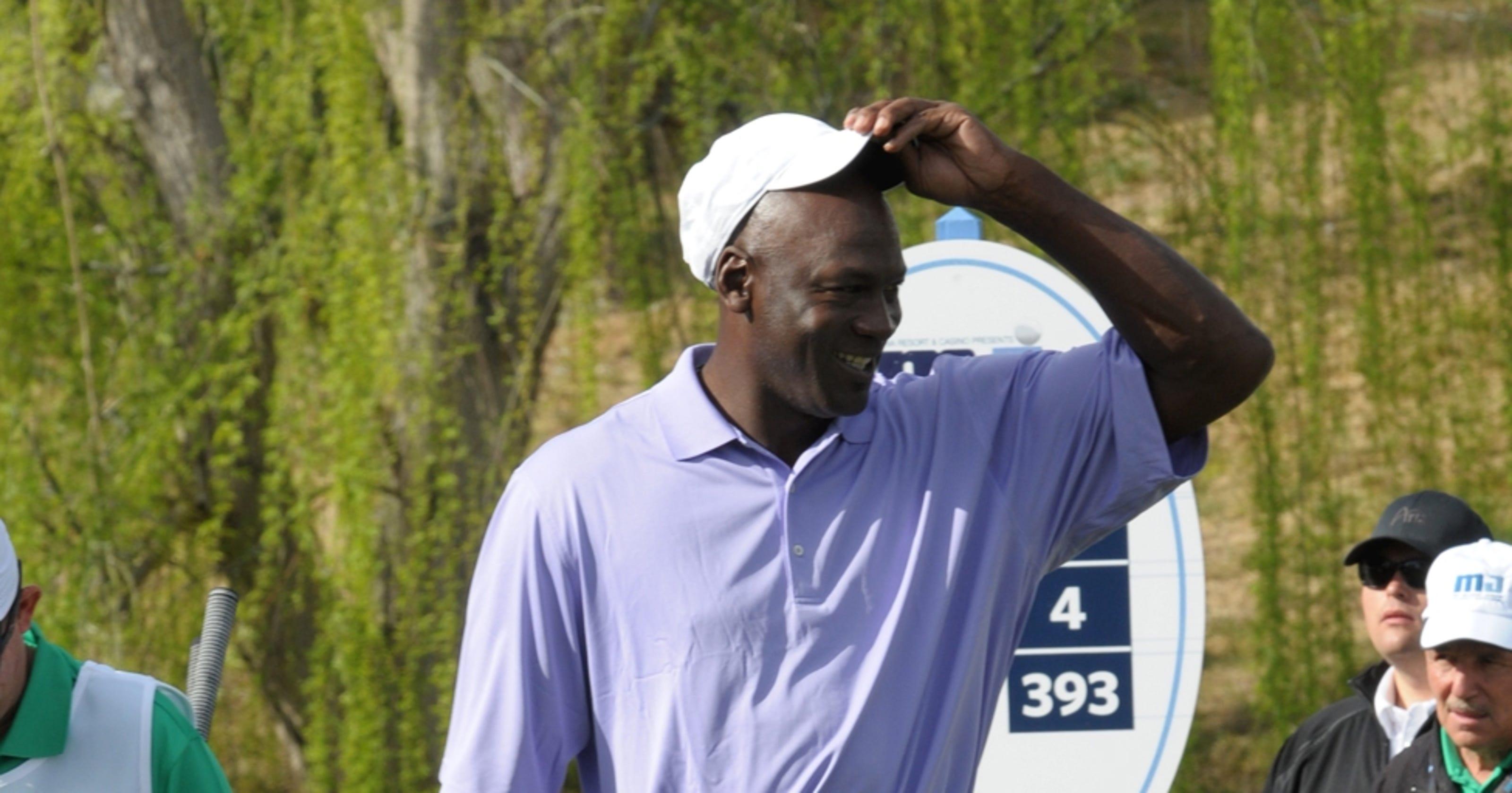 06b2780e Michael Jordan's golf course fashion faux pas