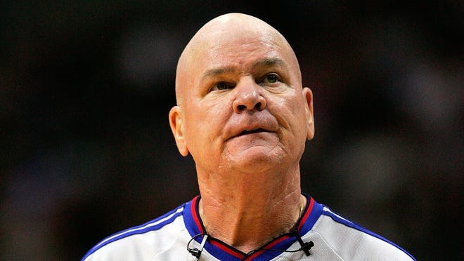 NBA referee Joey Crawford has always been one of the more enthusiastic officials in the league.