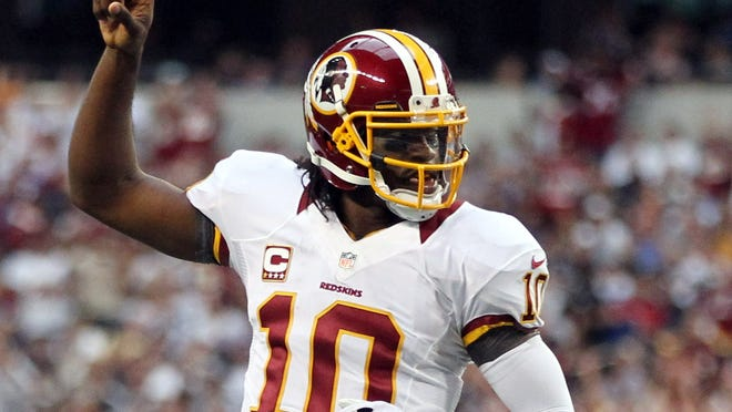 Robert Griffin III might become the consensus pick for the NFL's offensive rookie of the year, but he wouldn't vote for himself.