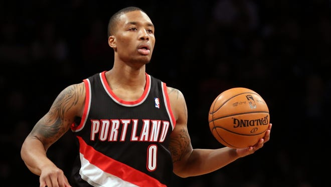 You want to trip out Blazers rookie point guard Damian Lillard? Take him to see some statues and monuments.