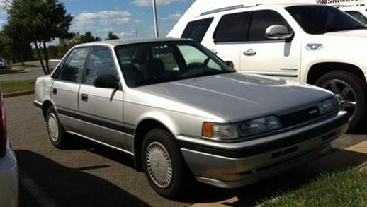Alfred Morris' 1991 Mazda 626 wouldn't start this week