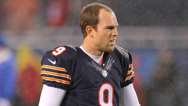 The Bears hadn't played a game without Robbie Gould since 2005.