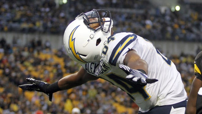 Chargers wide receiver Danario Alexander has been a consistent threat over the past several weeks of the season -- and he could be leading his fantasy to similar celebrations if he can keep it up.