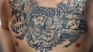 The tattoos A.J. McCarron will never, ever regret getting.