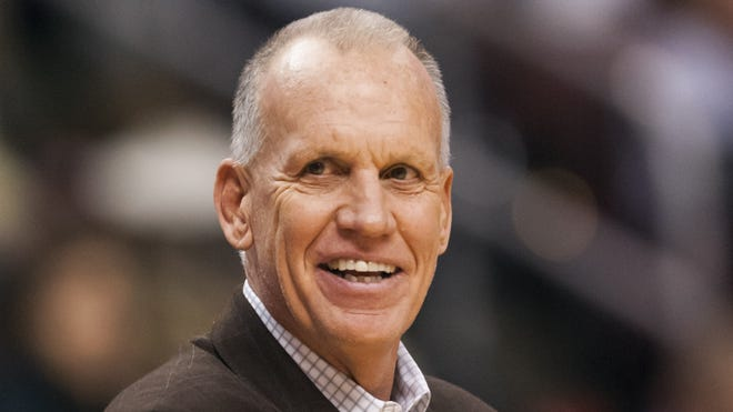 Doug Collins was happy with the 76ers' win, and happy to provide free hamburgers.