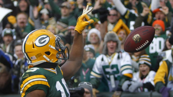 Green Bay Packers' Randall Cobb made a smart move to exploit an NFL rule on kickoffs during his team's rout of Tennessee.