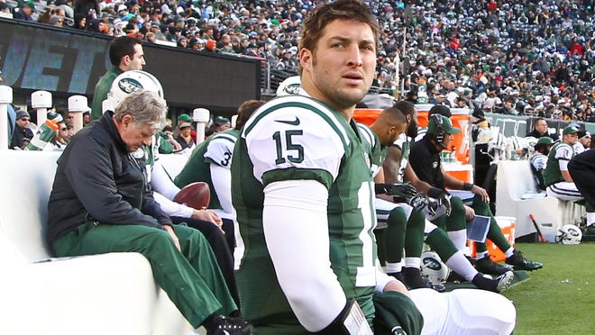 """ESPN analyst Merrill Hoge went on a rant about quarterback Tim Tebow, saying he's """"as phony as a three-dollar bill"""" and that the Jets didn't realize """"how bad Tim Tebow was"""" when they traded for him."""