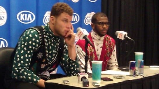 Blake Griffin and Chris Paul are ready to take your questions, but not your fashion advice.