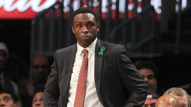 The firing of Brooklyn Nets coach Avery Johnson certainly got a response out of his son on Twitter.