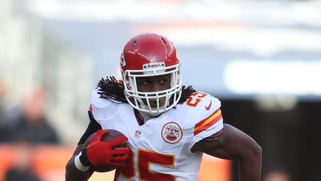 The Chiefs will be able to get some top shelf talent to surround running back Jamaal Charles next year.