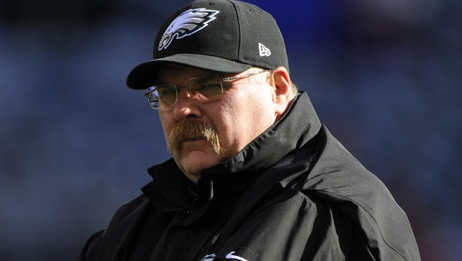 Philadelphia fired coach Andy Reid after 14 seasons with the team.