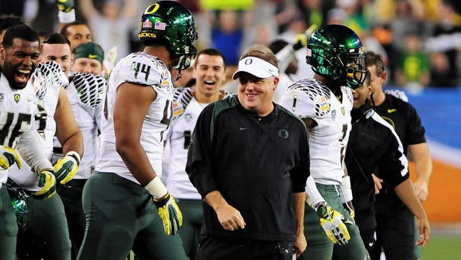 Oregon's Chip Kelly might have already decided on coaching the Cleveland Browns.
