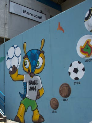 Brazil will host the 2014 World Cup.