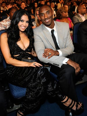 Kobe and Vanessa Bryant attend the 2009 ESPYs. The couple filed for divorce in 2011 but reconciled this month.