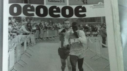 Ivan Fernandez Anaya took this photo of his viral moment reaching a newspaper front page.