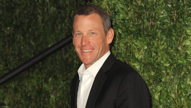 Lance Armstrong (seen here at a February 2012 Academy Awards party) hasn't had much to smile about after admitting to doping in an interview with Oprah Winfrey last week.
