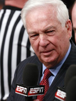 """Bill Raftery's now-famous """"Send it in Jerome!"""" call happened 25 years ago on a slam dunk by Jerome Lane."""