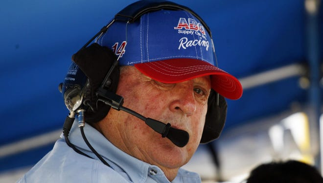 A.J. Foyt, seen here in May 2012, addressed the Danica Patrick-Ricky Stenhouse Jr. relationship on Saturday.