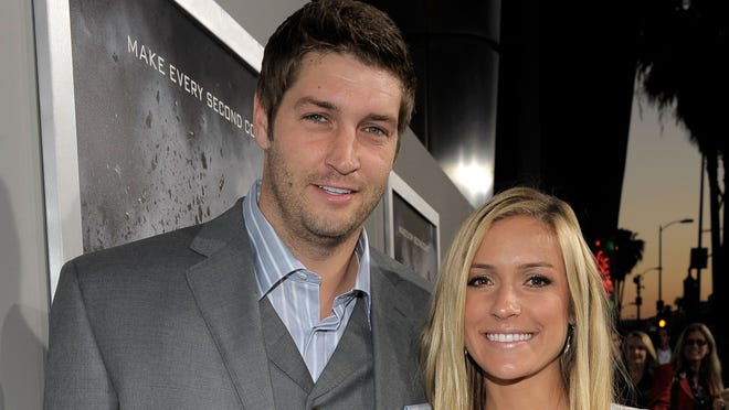 Jay Cutler and Kristin Cavallari in 2011.
