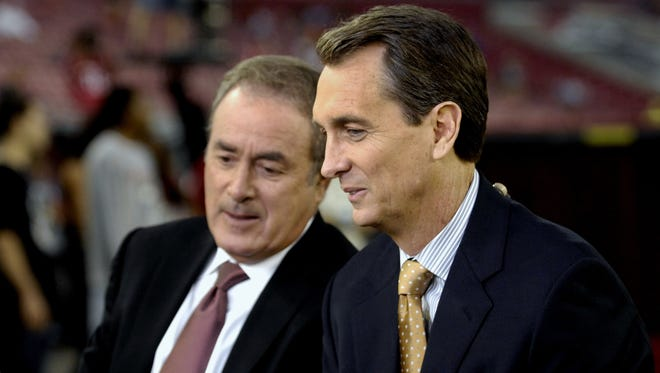 Al Michaels occasionally likes to give us a laugh at Cris Collinsworth's expense, like we heard during Sunday's Pro Bowl.