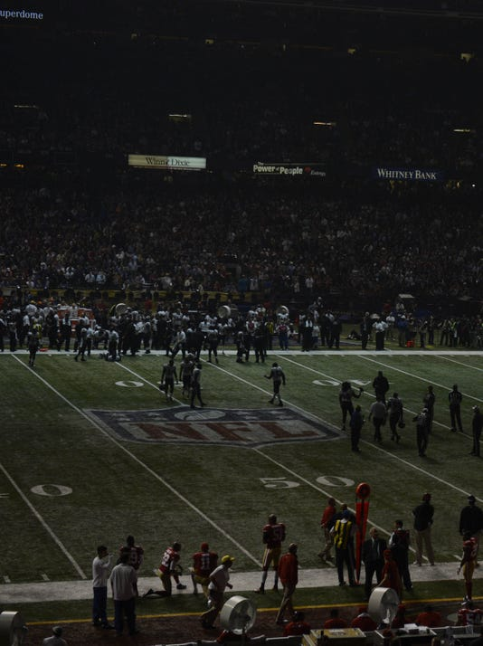 2013-02-03 Super Bowl power outage