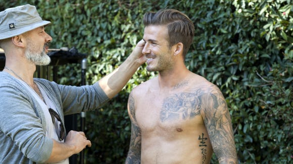 David Beckhams Body Double Exposed In Hm Ad